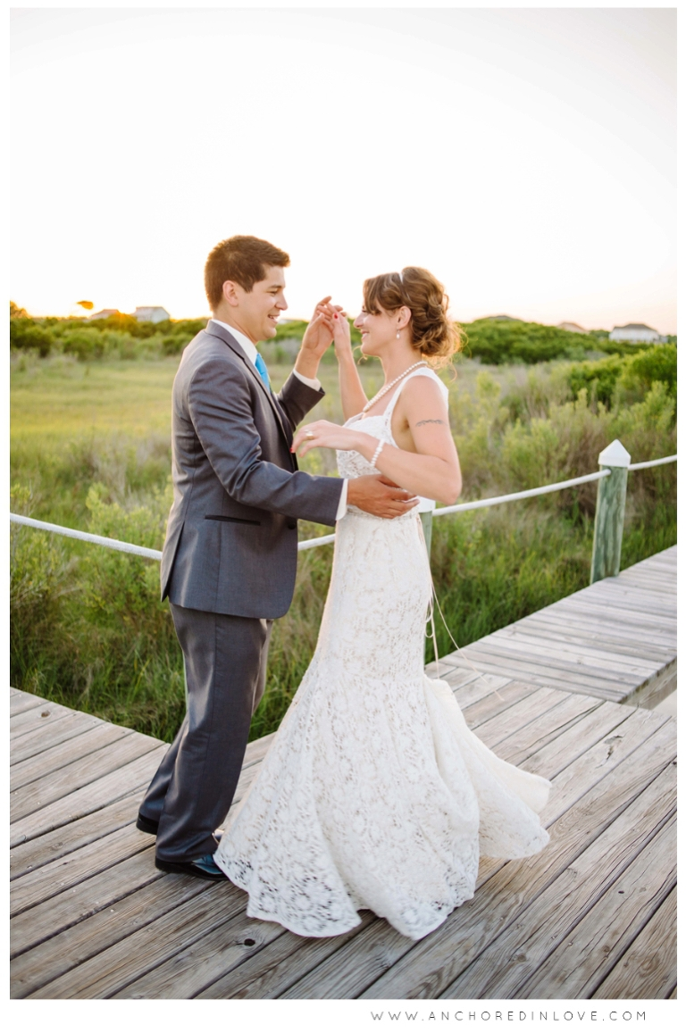 Sarah thomas s topsail beach wedding highlights for 1051 salon wilmington nc
