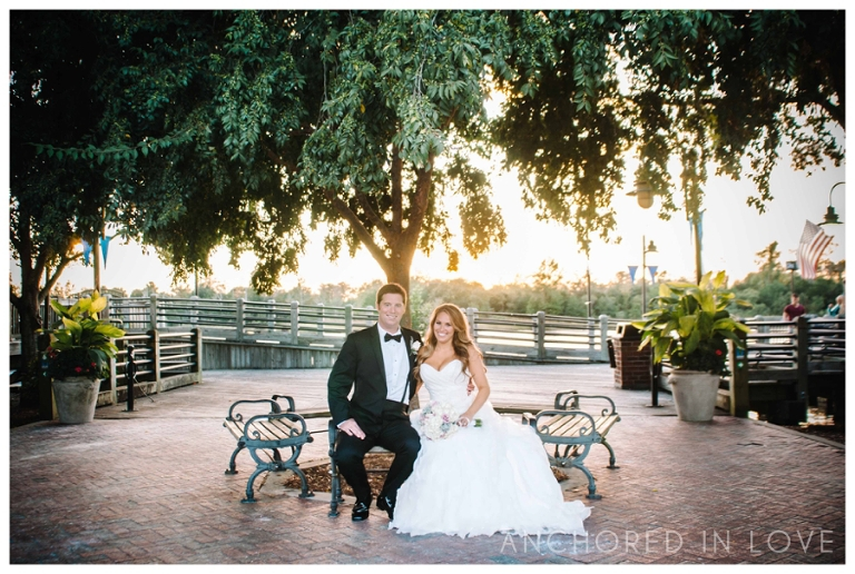 Riverwalk Landing Wedding Anchored in Love Wilmington North Carolina_1001