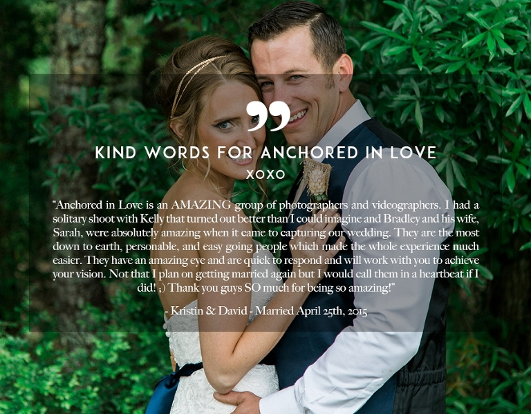 Kristin & David Kind Words