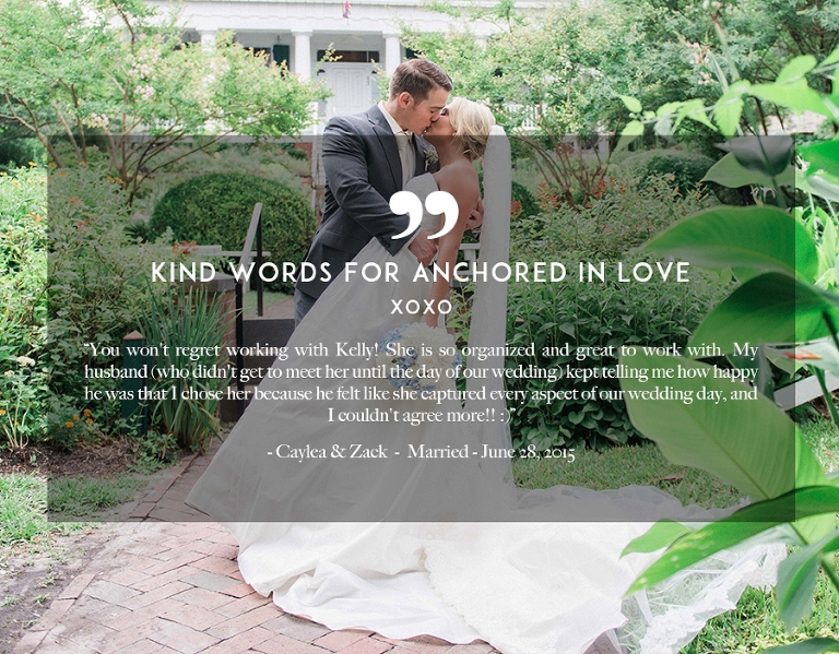 Kind Words Review Wilmington NC Wedding Anchored in Love
