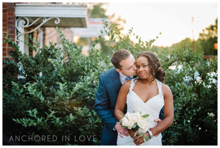 BM Durham NC Cookery Wedding Anhchored in Love