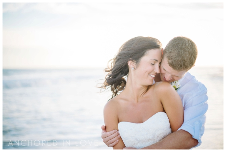 Emerald Isle Beach Wedding Wilmington NC Anchored in Love