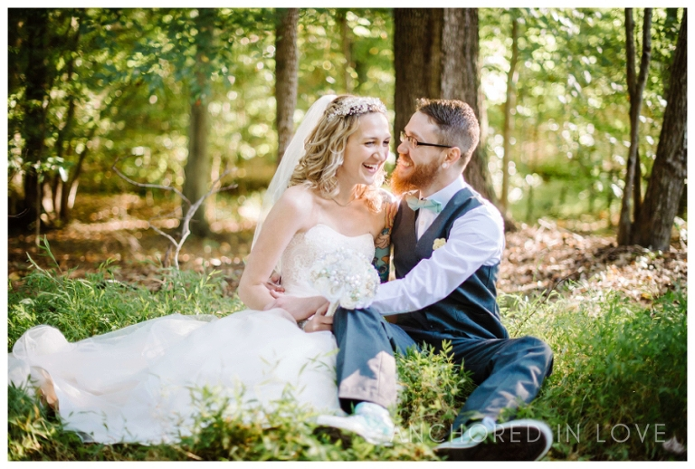 Christina & Jonathan Backyard Wedding Anchored in Love