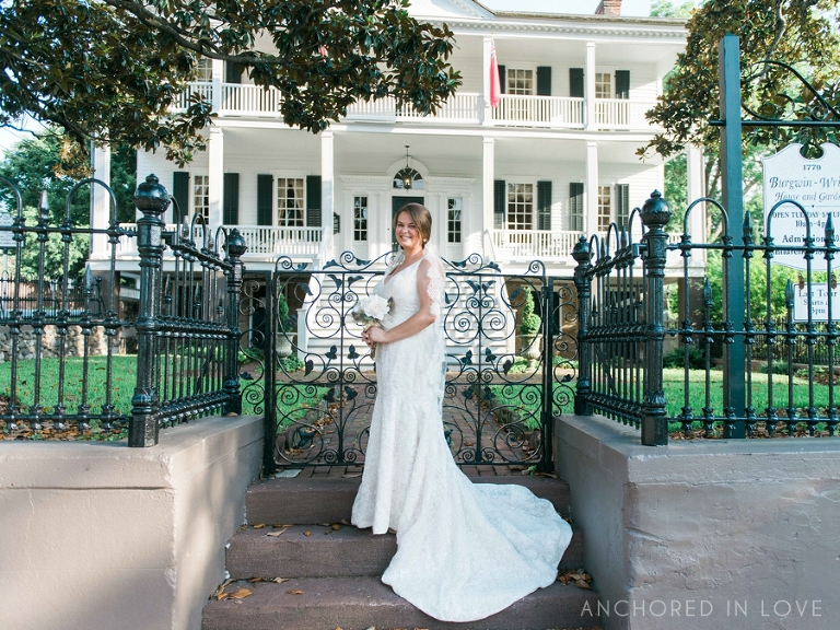 Dana's Downtown Wilmington Bridal Session Anchored in Love