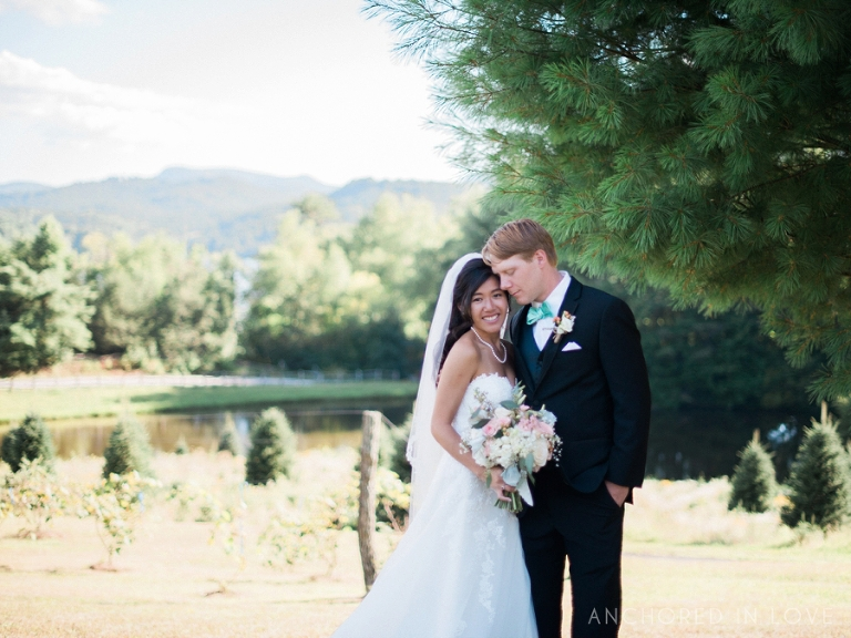 Asheville NC Wedding Photographer Anchored in Love Thuc & Chris