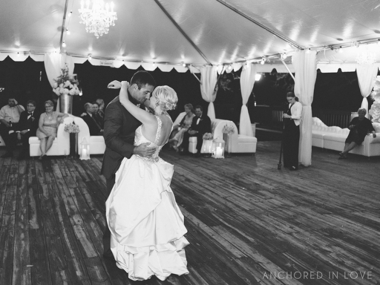 Southport Community Center Wedding Anchored in Love A&J