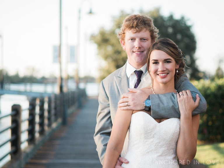 Downtown Wilmington NC Wedding Anchored in Love Coastline Convention Wedding AA