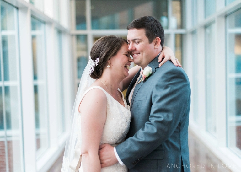 Imperial Center Wedding NC Anchored in Love Dana & Brandon