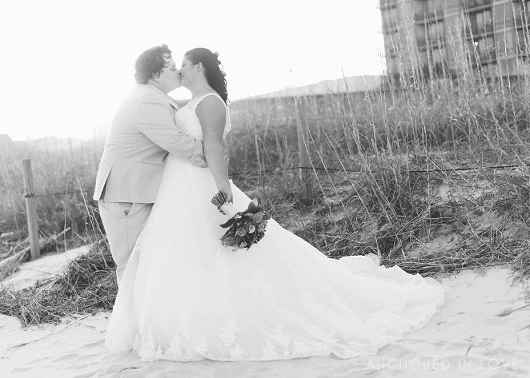 Shell Island Resort Wedding Wrightsville Beach NC Wedding Anchored in Love Brittany and Joseph
