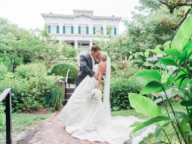 Wilmington NC Wedding Photographer Anchored in Love Saint Thomas Preservation Hall C&Z-1550