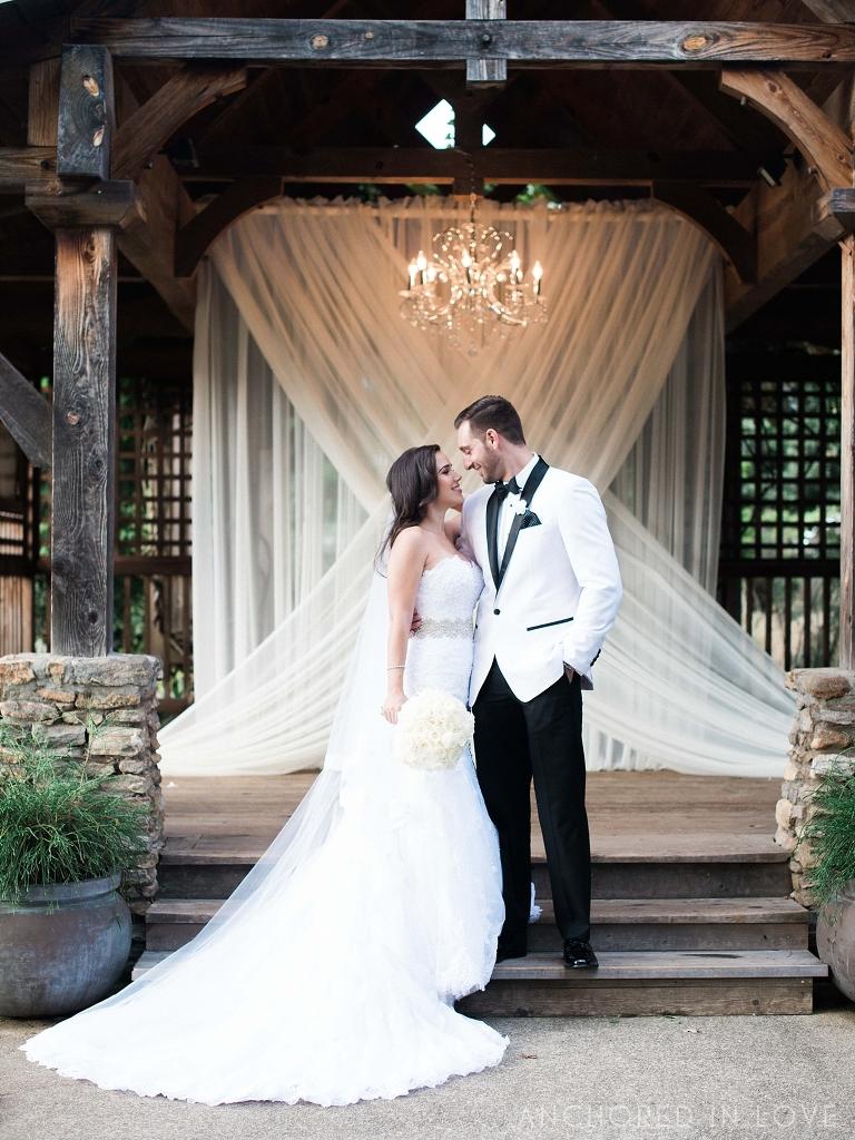 Diana jonathan s ashville arboretum wedding ashville for Wedding dresses asheville nc