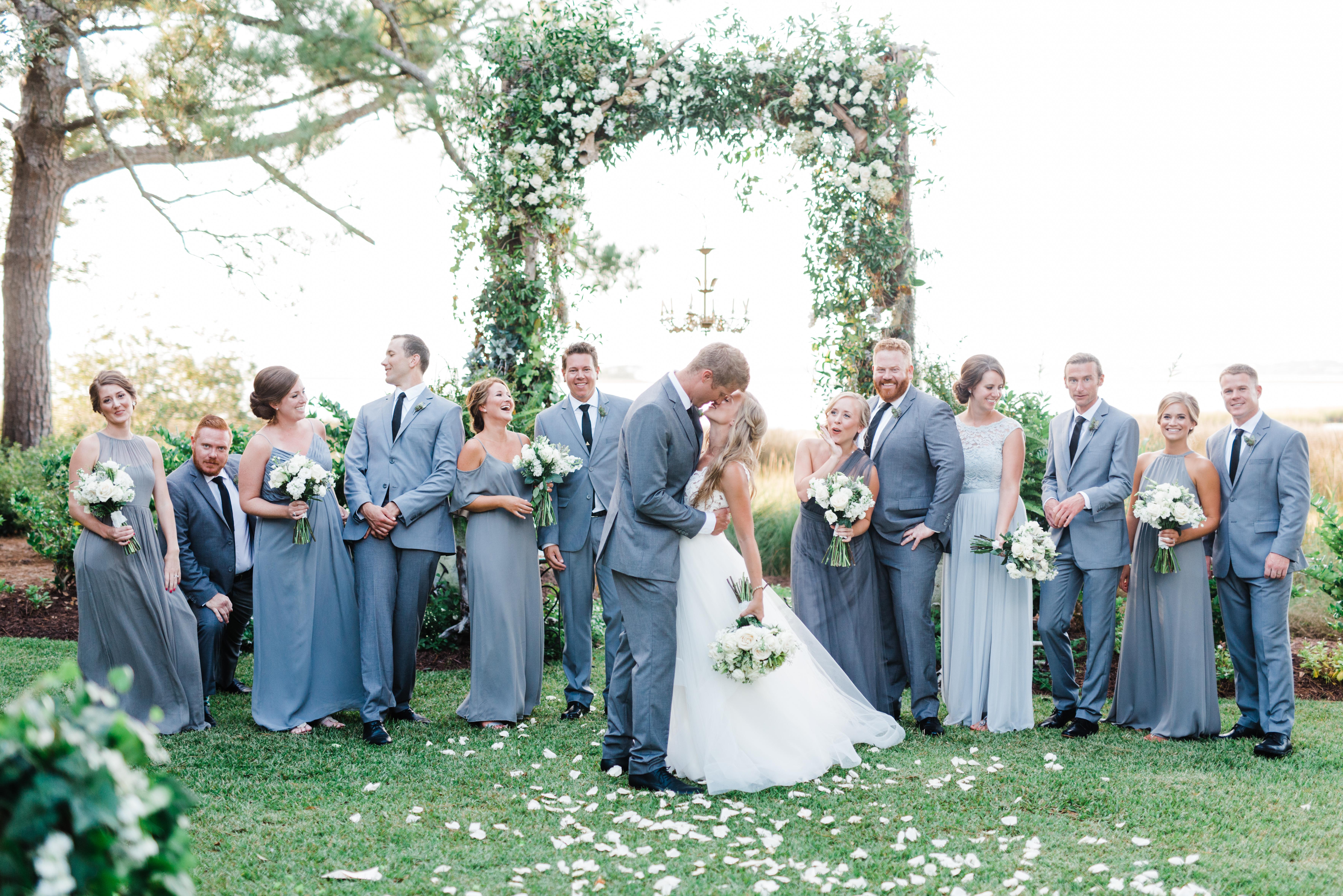 Sneak K Rachel Jeff S The Watson House Emerald Isle Wedding Ancd In Love